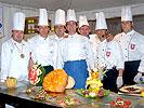 stand/cucina occupato e allestito dalla Federazione Italiana Cuochi Sez. di Latina
