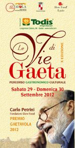Le vie di Gaeta 2012